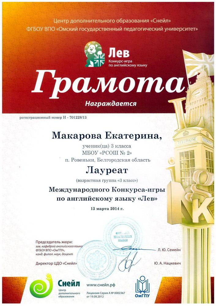 Международные бесплатные конкурсы для учителей английского языка